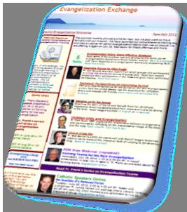 Evangelization Exchange Page Display