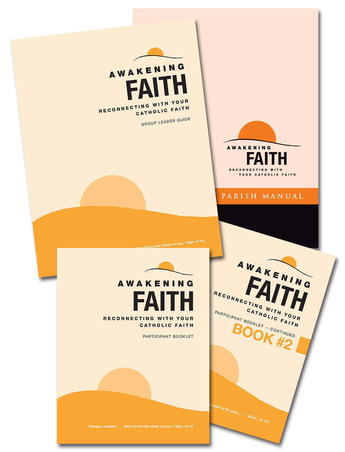 learn more about awakening faith paulist evangelization ministries a parish can order the awakening faith parish preview pack which contains the parish manual cd a group leader guide and a participant booklet