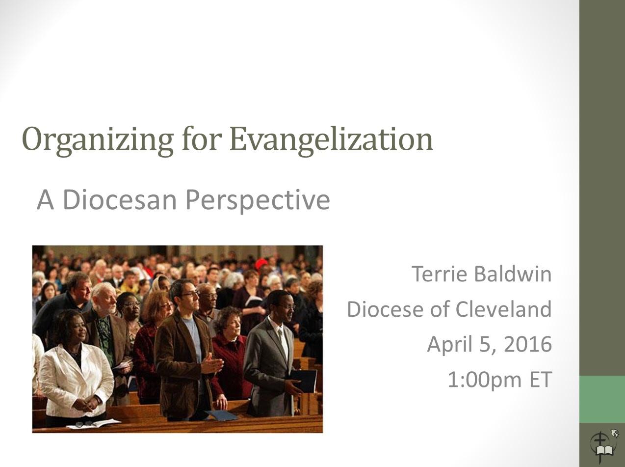 Diocesan Evangelization 4 5 16