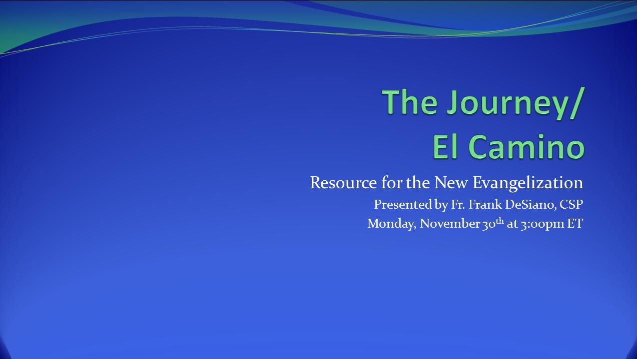 The Journey 11 30 15